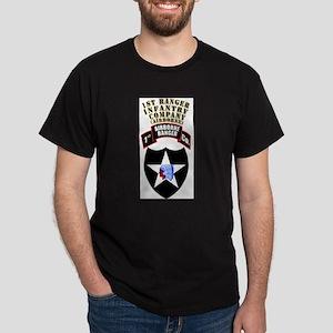 SOF - 1st Ranger Infantry Co - Abn Dark T-Shirt