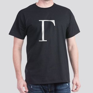 Greek Letter Gamma Dark T-Shirt