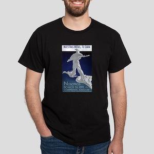 Nosotros Somos Tu Jefe Black T-Shirt