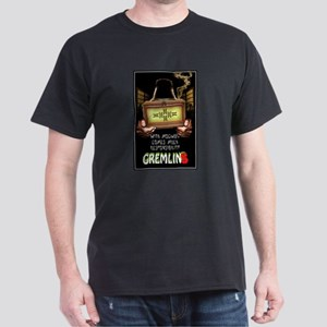 Gremlins Movie Poster Dark T-Shirt