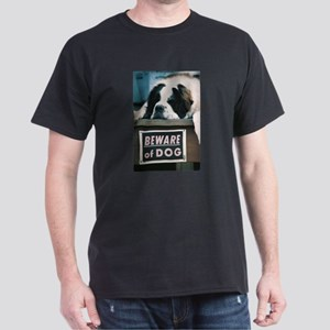 Beware of Dog Dark T-Shirt