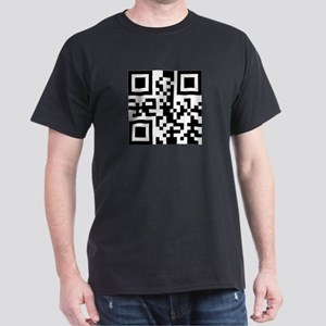 GO FUCK YOURSELF QR CODE Dark T-Shirt