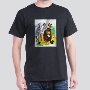 Wizard of Oz - Follow the Yellow Bric Dark T-Shirt