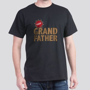 New Grandfather Grandchild Family Dark T-Shirt