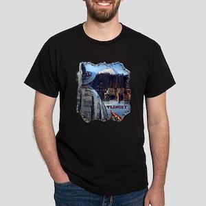 Tlingit Canoes Dark T-Shirt