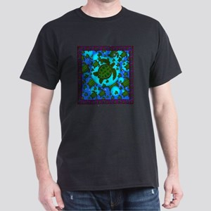 Honu Shower Curtain Dark T-Shirt