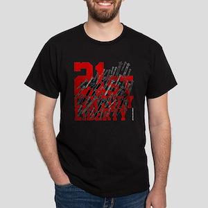 21st century liberty - missiles - war Dark T-Shirt