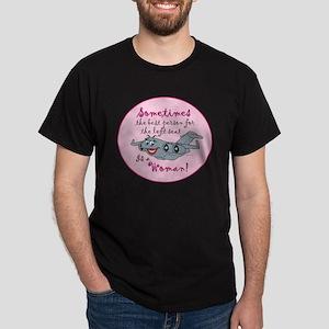 Mil 1B C17 fem t copy Dark T-Shirt