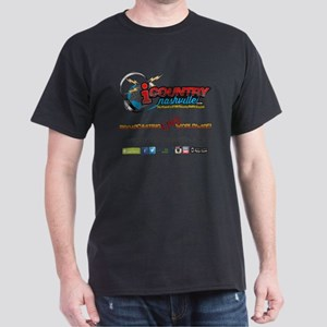 iCountryNashville.com Listen Live! Dark T-Shirt