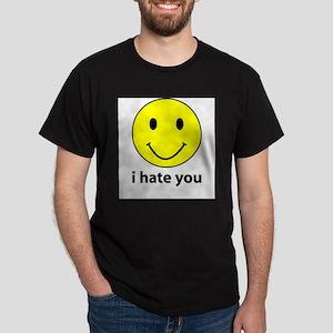 i hate you Ash Grey T-Shirt