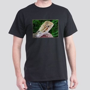 Bearded Dragon 002 Black T-Shirt