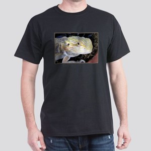 Bearded Dragon 005 Black T-Shirt