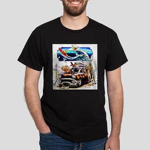 Vintage Woody Dark T-Shirt
