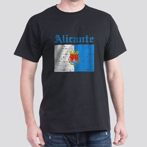 Alicante flag designs Dark T-Shirt