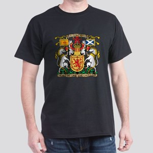 Scotland Coat Of Arms Dark T-Shirt