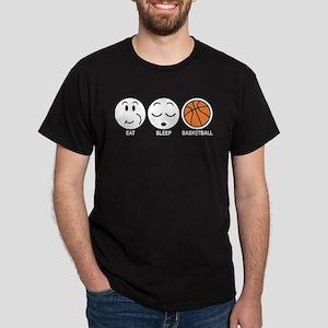 Eat Sleep Basketball Dark T-Shirt