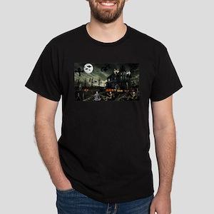 Skeleton Graveyard T-Shirt