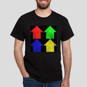 4 simple houses Dark T-Shirt