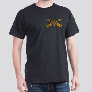 3rd Bn 7th SFG Branch wo Txt Dark T-Shirt