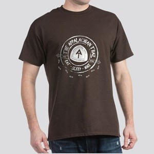 Appalachian Trail Eat-sleep-hike Dark T-Shirt