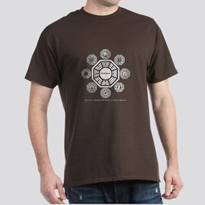 Dharma Stations Dark T-Shirt