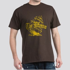 Inferno Pirate Ship Dark T-Shirt