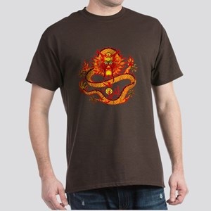 Golden Dragon Dark T-Shirt