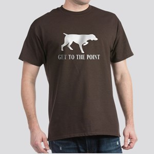 GET TO THE POINT Dark T-Shirt