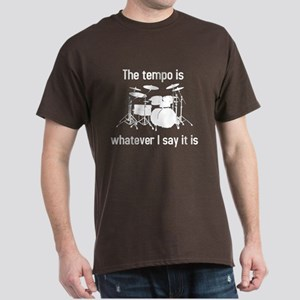 Drummer. The tempo is Dark T-Shirt