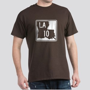 Route 10, Louisiana Dark T-Shirt