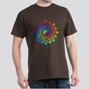 Rainbow Spiral Dark T-Shirt