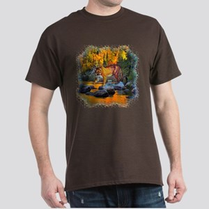 Autumn Cougar Dark T-Shirt