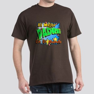 El Mejor Padre Dark T-Shirt