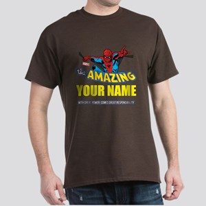 The Amazing Spider-man Personalized Dark T-Shirt