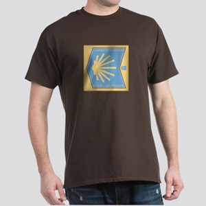 Camino de Santiago Spanish-Basque, Sp Dark T-Shirt