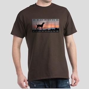 Redbone Coonhound Sunset Dark T-Shirt
