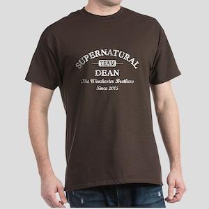 SUPERNATURAL Team DEAN white Dark T-Shirt