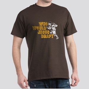 Fantasy Football Jesus Draft (WWJD) Dark T-Shirt