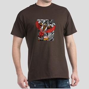 Comic Falcon Dark T-Shirt