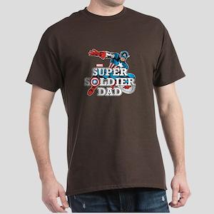 Super Soldier Dad Dark T-Shirt