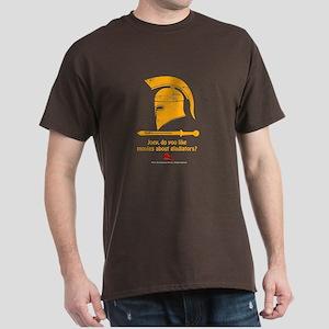 Airplane Gladiator Dark T-Shirt