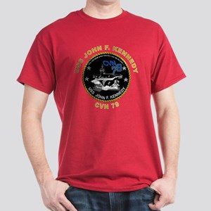 USS John Kennedy CVN-79 Dark T-Shirt