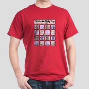 """Bachelorette Party Bingo"" Dark T-Shirt"