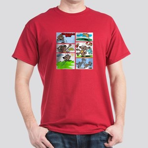 IT'S GROUNDHOG DAY Cardinal Red T-Shirt