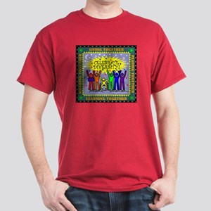 Celebrate Diversity Black or Dark Color T-Shirt