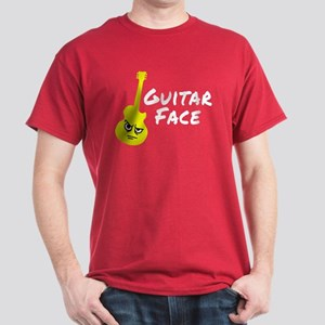 Guitar Face Dark T-Shirt