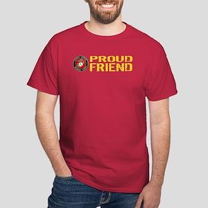 380aa76c9 USMC: Proud Friend Dark T-Shirt