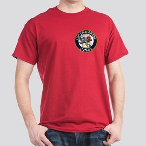 2-Sided Enterprise Dark T-Shirt