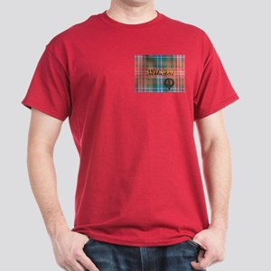 Wilson Tartan & Badge Dark T-Shirt