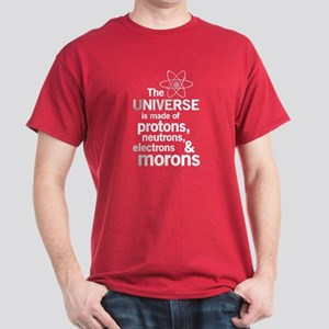 The universe is made of protons neutrons electrons